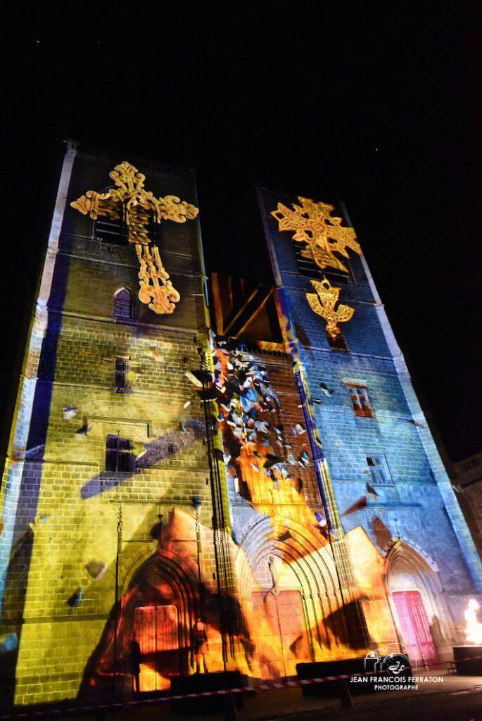 Mapping - Cathédrale Saint Pierre Saint Flour