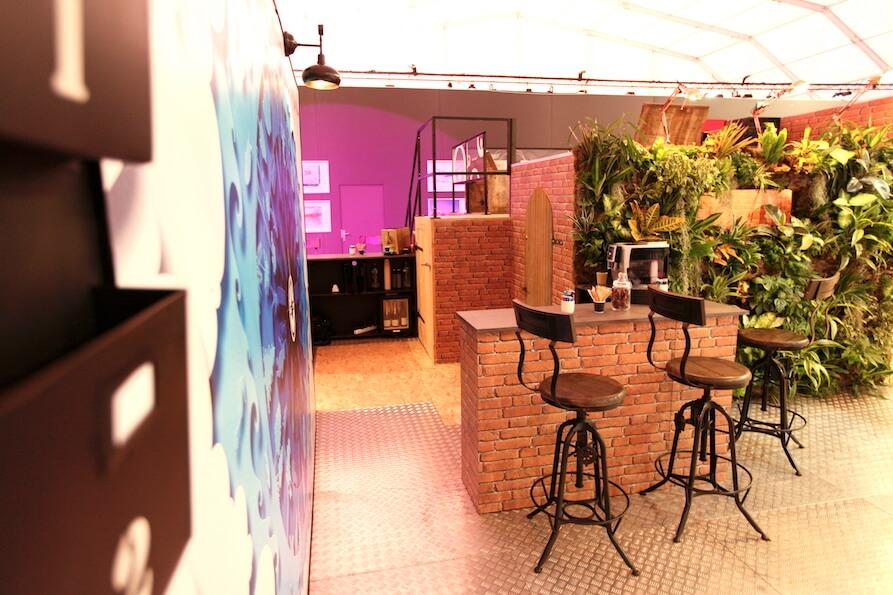 2016 Création du stand de la société OTV VEOLIA pour le salon Espace Collectivité